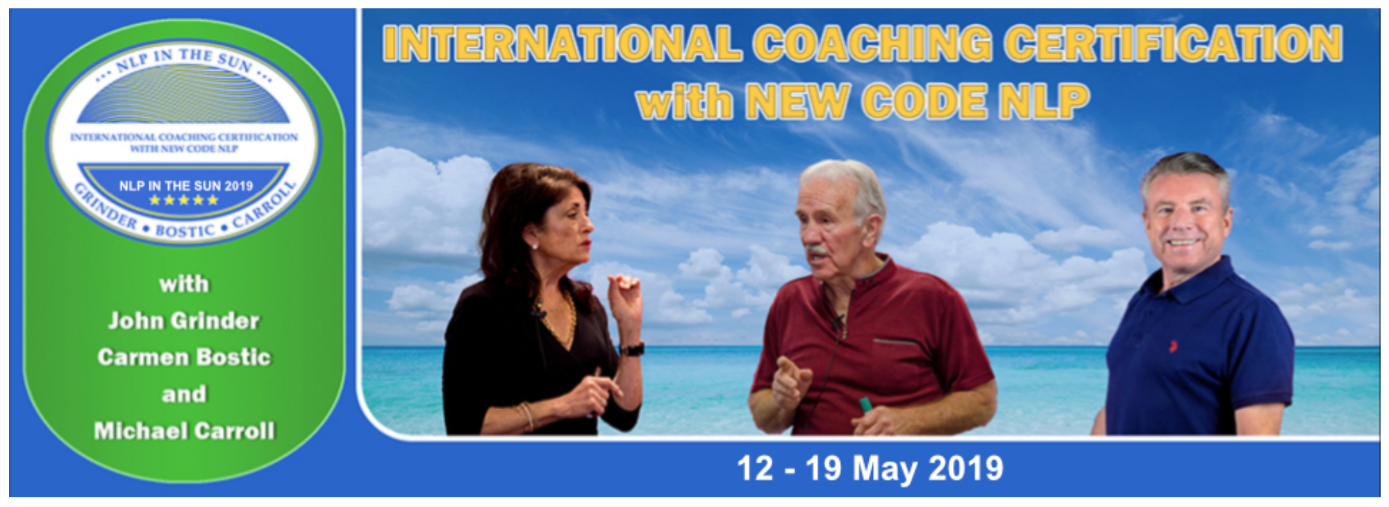 International Coaching Certification with New Code NLP (Portugal)