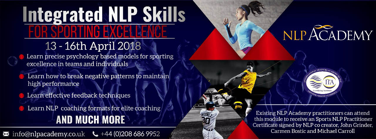 Integrated NLP for Sporting Excellence | NLP Academy