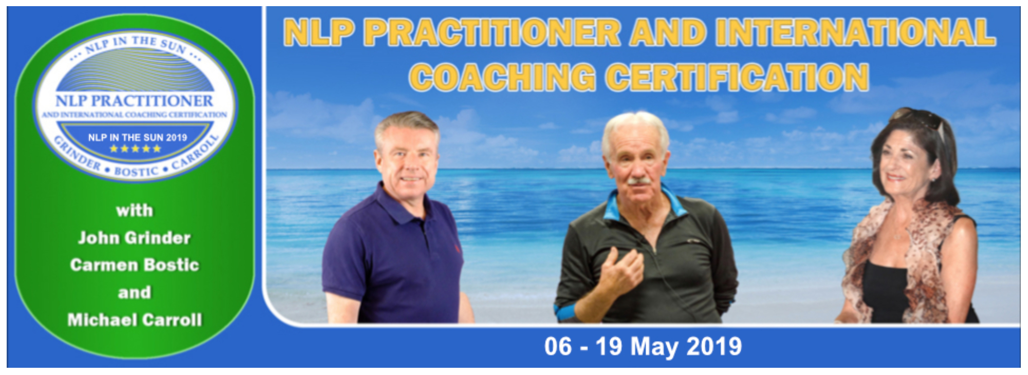 NLP Practitioner and International Coaching Certification (Portugal)