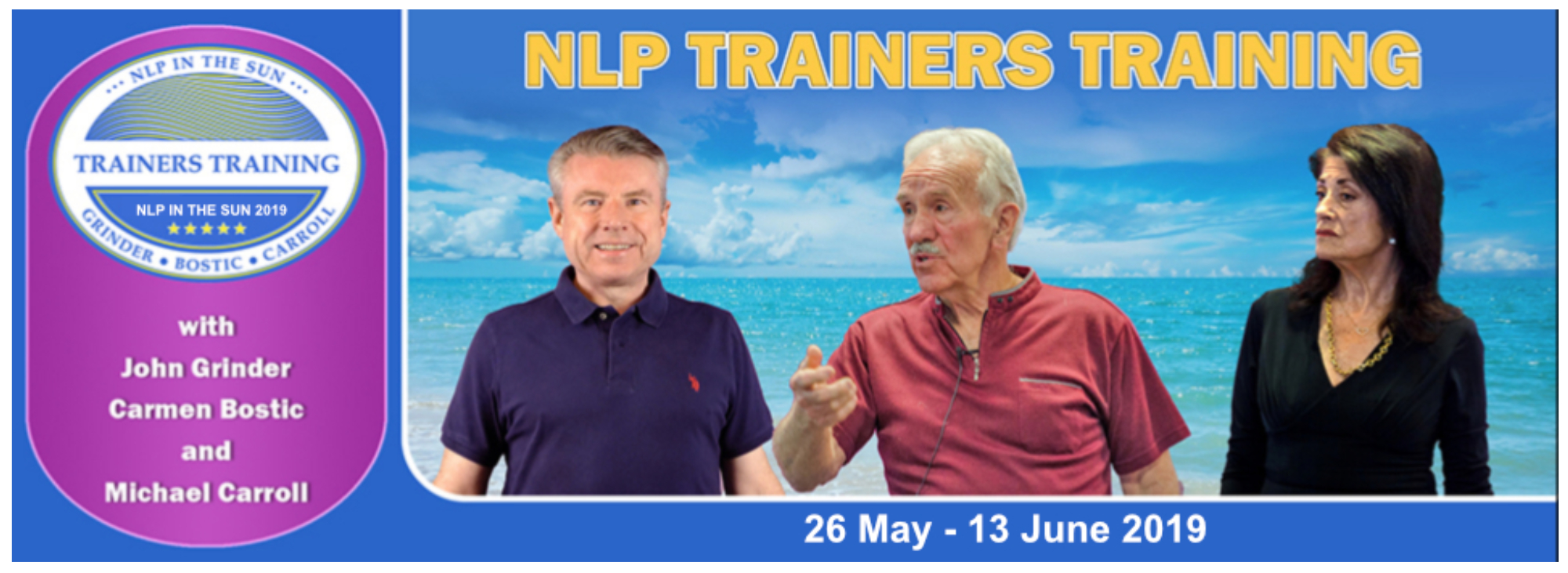 NLP Trainers Training (Portugal)