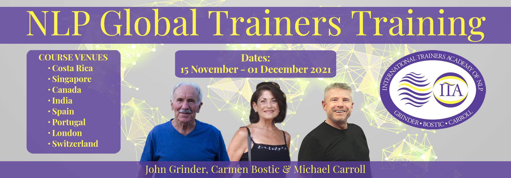 NLP Global Trainers Training