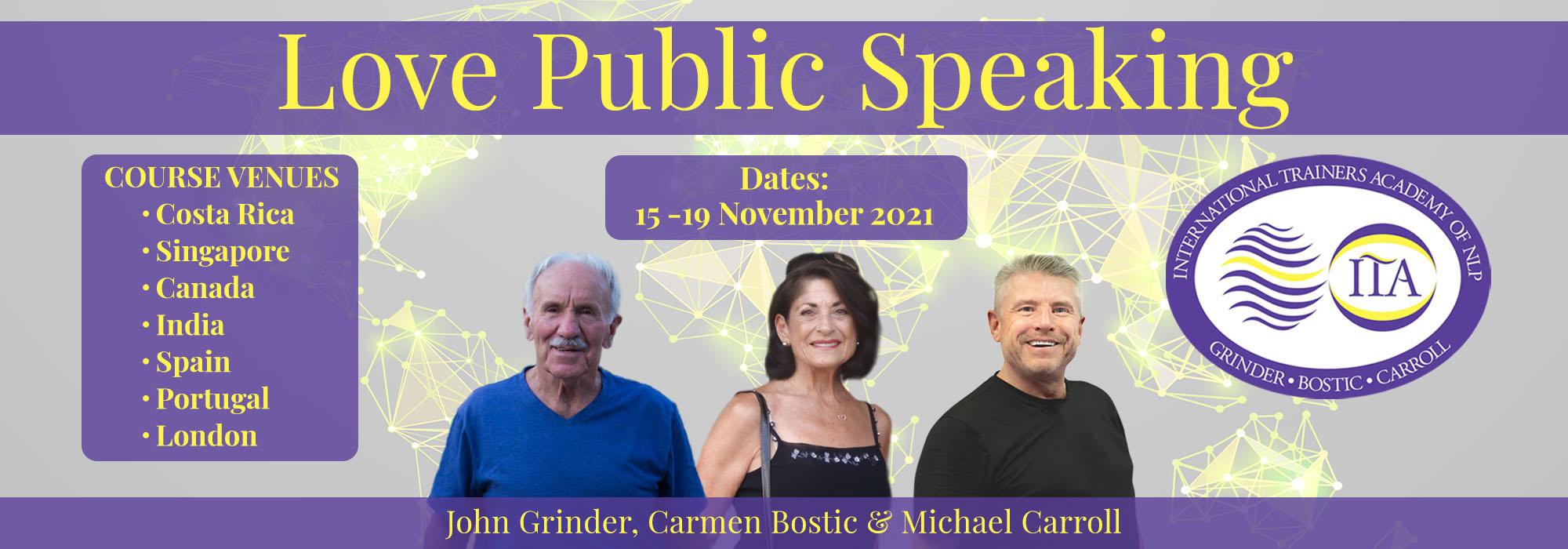 Love Public Speaking