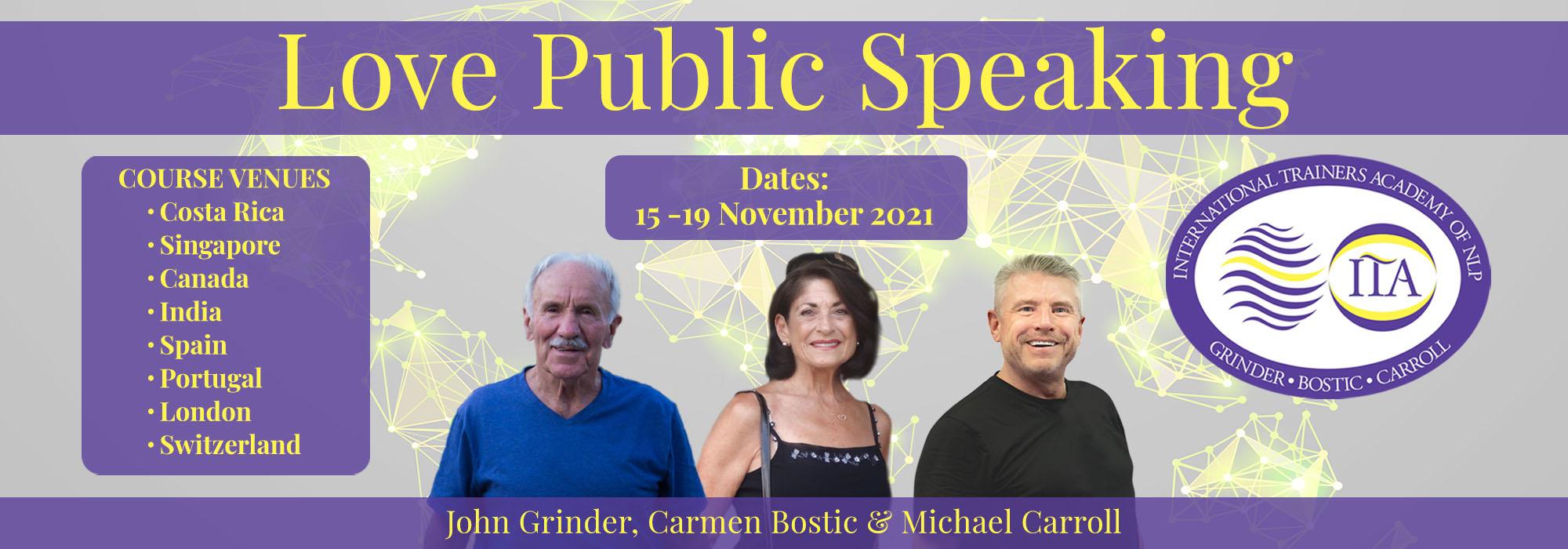 Love Public Speaking Globally