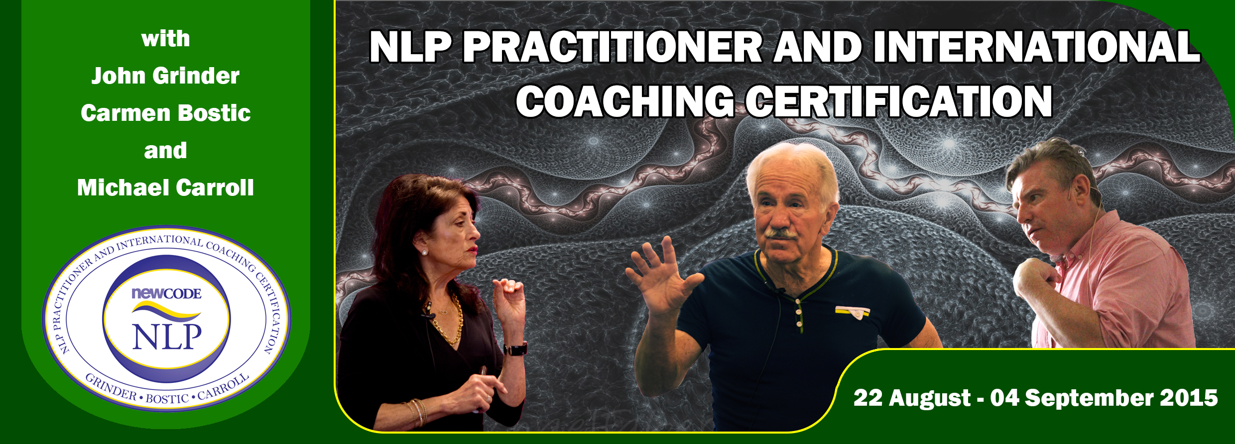 NLP Practitioner and International Coaching Certification