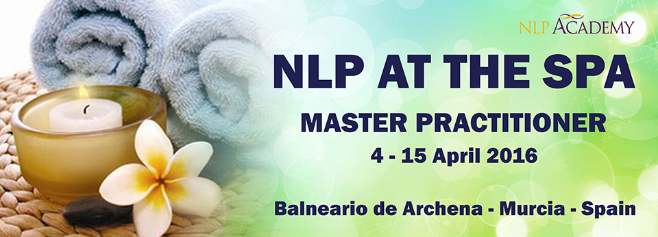 NLP Master Practioner at the Spa - 2016